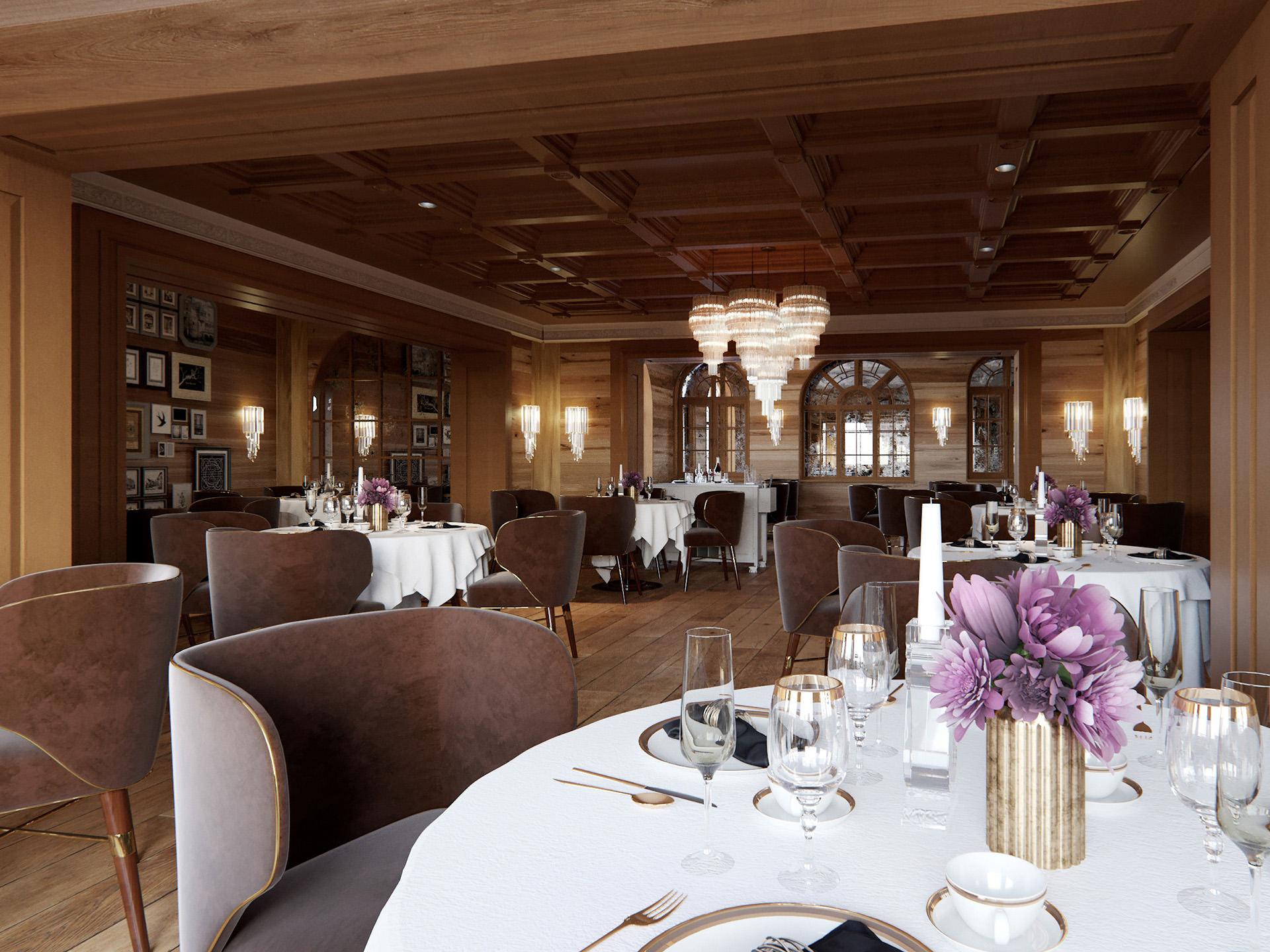 3D-interior-visualization-Mont-Cervin-restaurant