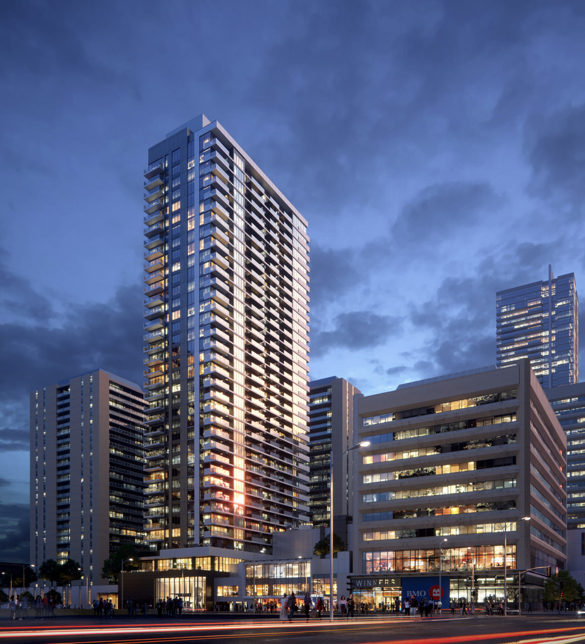 Exterior: Architectural Rendering Of YS Tower In Toronto • Lunas