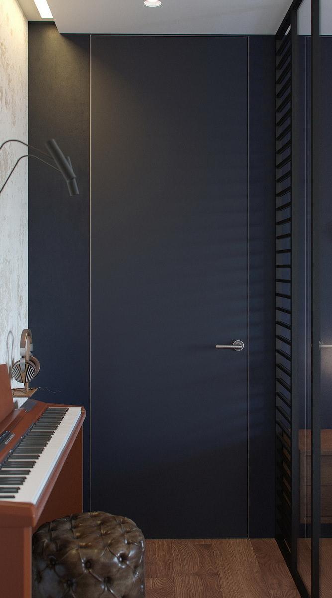 interior-3D-render-bedroom-depth-door