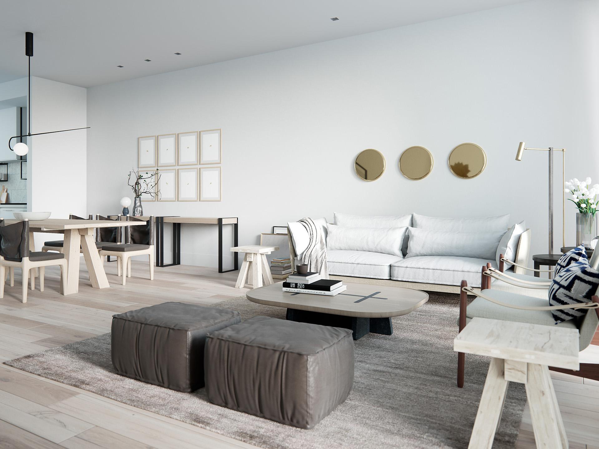 3D-interior-rendering-Living-dining-1