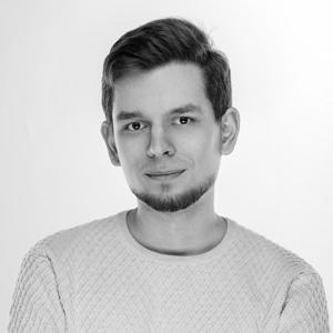 portrait of 3D visualization artist Vasily Gushcha