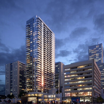 Architectural Rendering of YS Tower in Toronto
