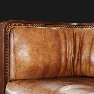 3D Product Rendering of Jacob Kjaer Leather Sofa