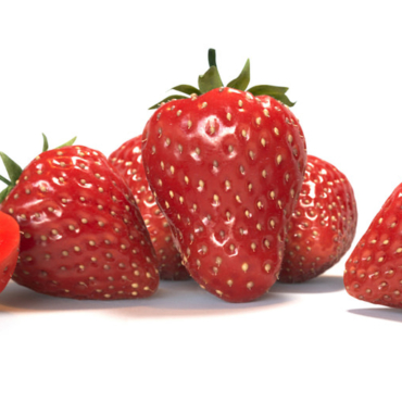 Photorealistic Visualization of Red Strawberries