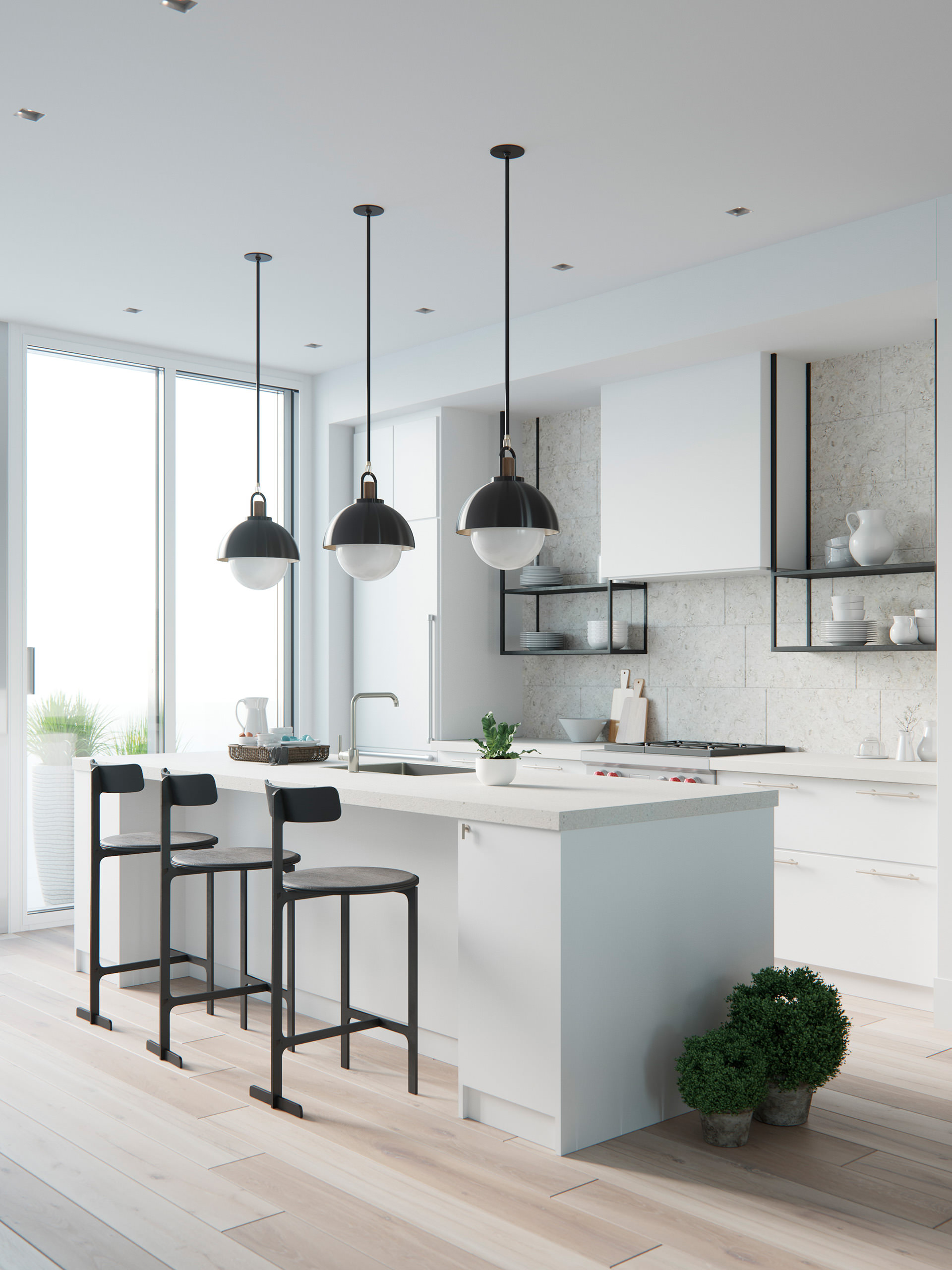 3D-interior-rendering-kitchen-white-table-morning-2