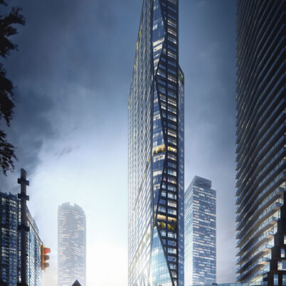 Architectural Visualization of Adelaide Skyscraper, Toronto