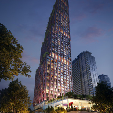 Architectural Visualization of Expo City Tower 5, Toronto, Canada