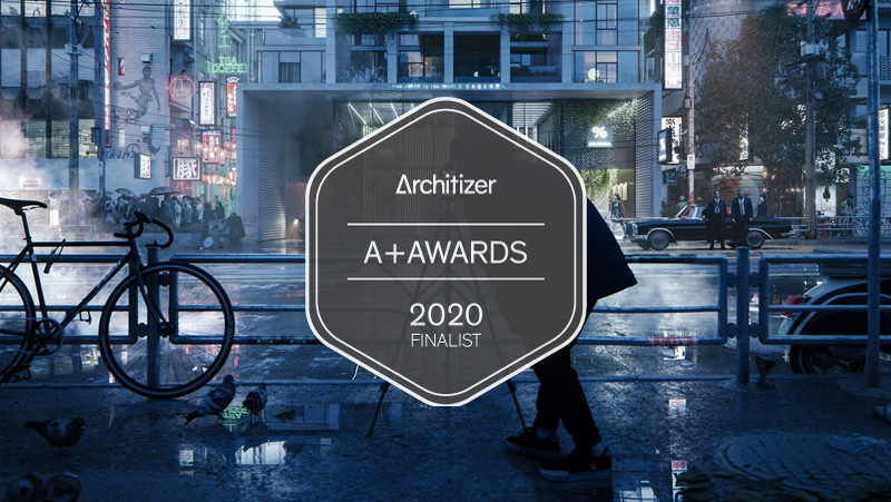Lunas studio is a finalist in Architizer A+Awards architectural visualization competition with conceptual residential project